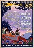 TW73 Vintage-Poster im Stil der 1920er Jahre, französische