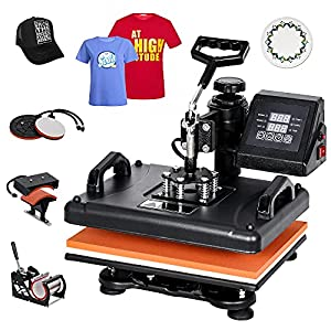 best multifunction t shirt press machine