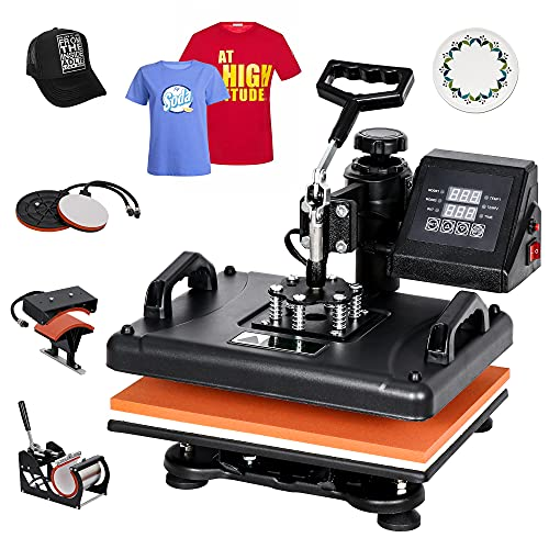 F2C Pro 5 in 1 Heat Press Machine