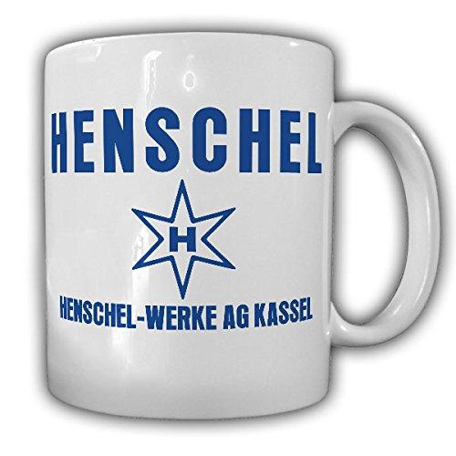 Henschel Werke AG Kassel Logo Oldtimer Fan Lokomotive LKW Bus Panzer Motor - Tasse Becher Kaffee #13578
