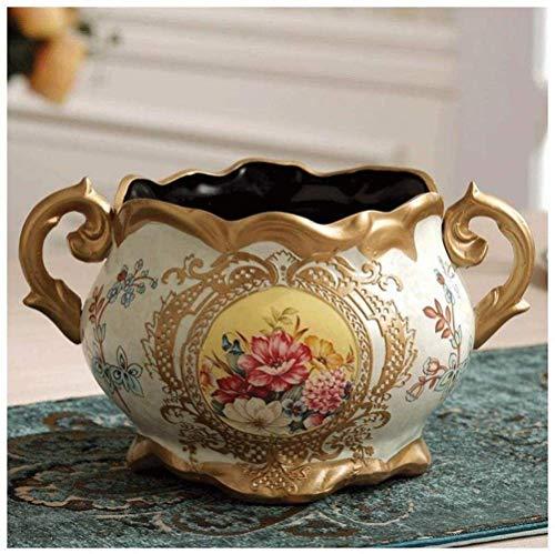 Jarrones Mesa Porche Hogar Vino Gabinete Decoración Regalos Porcelana Arcilla Magníficas Habilidades Hechas A Mano Artesanía Compleja Cerámica (Color: E), Color: G (Color: F)