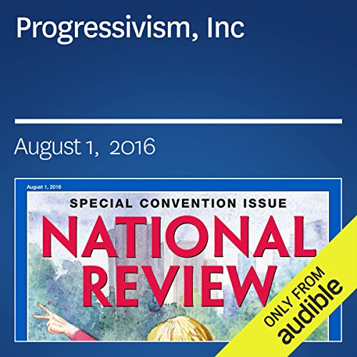Progressivism, Inc audiobook cover art