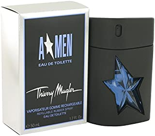 Angel Cologne By THIERRY MUGLER 1.7 oz Eau De Toilette Spray Refillable (Rubber Flask) FOR MEN