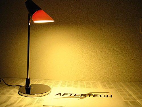 aftertech® Lampe de bureau LED 5 W Touch Design moderne ordinateur table chevet 807 WW