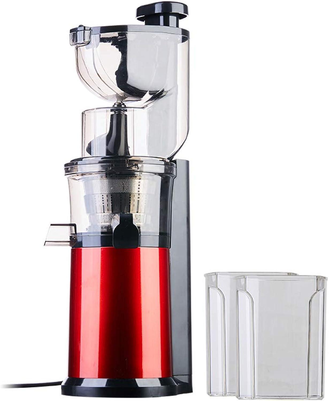 WFF Exprimidor doméstico, máquina de Jugo Multifuncional de separación de Jugo de escoria de Fruta y verdura de Fruta de Gran Calibre