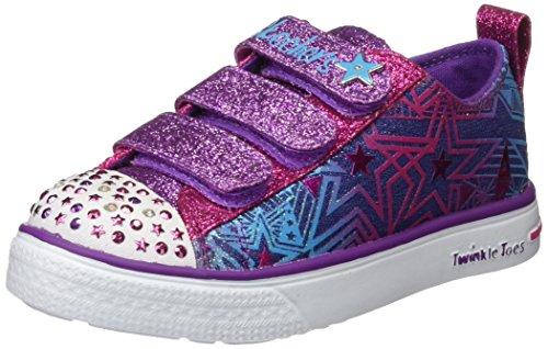 Skechers Mädchen Twinkle Breeze- Comet Cutie Sneakers, Mehrfarbig (dmlt), 33 EU
