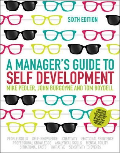Pedler, M: Manager's Guide to Self-Development (UK Professional Business Management / Business)