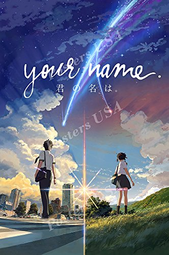 Posters USA - Your Name Movie Poster Glossy Finish - FIL192 (24' x 36' (61cm x 91.5cm))