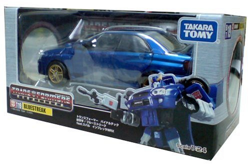 TRANSFORMERS Binaltech BT19 Blue Streak feat. SUBARU IMPREZA WRX (japan import)