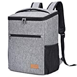 Lifewit 24L Sac à Dos Isotherme à Glacière Cooler Backpack Bag, Sac Isotherme Portable pour...