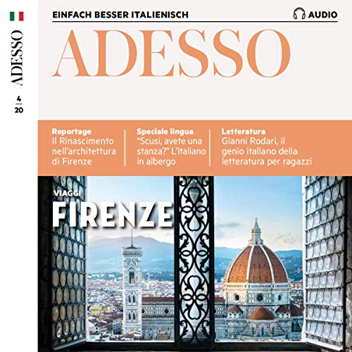 Adesso Audio - Firenze. 4/2020 Titelbild