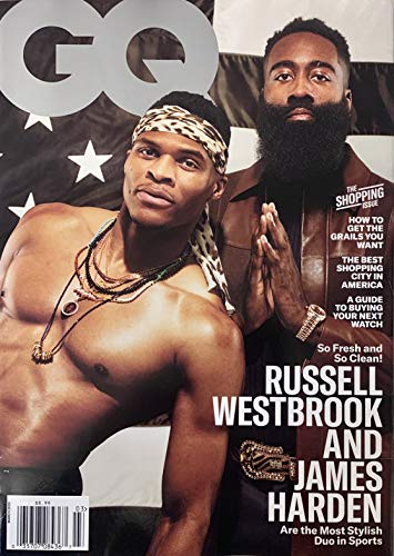 GQ MAGAZINE - MARCH 2020 - RUSSELL WESTBROOK & JAMES HARDEN
