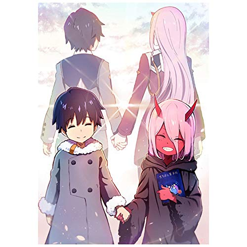 DARLING in the FRANXX Anime Poster Manga Wall Art Picture