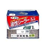 アサヒペン 油性シーラー 7L 透明(クリヤ)