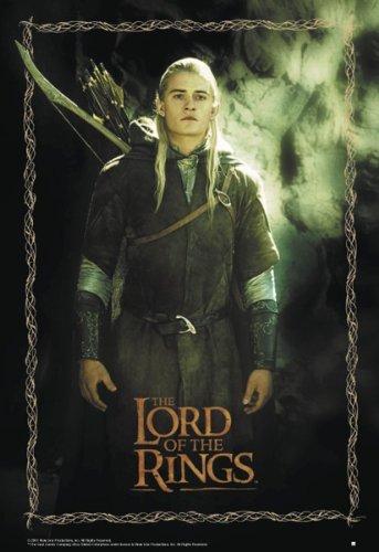 Close Up Herr der Ringe Poster Legolas (68,8cm x 98cm)