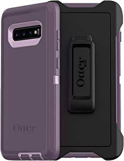 OtterBox DEFENDER SERIES SCREENLESS EDITION Case for Galaxy S10+ - PURPLE NEBULA (WINSOME ORCHID/NIGHT PURPLE)