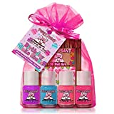 Piggy Paint Birthday Cake Shake Set (4 Polish + Nail Art)