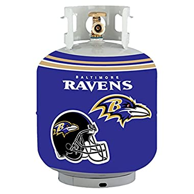 NFL Baltimore Ravens Propane Tank Cover/5 Gal. Water Cooler Cover, Purple