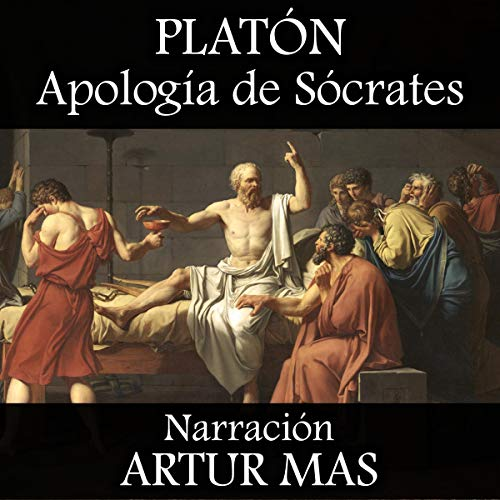 Apología de Sócrates audiobook cover art