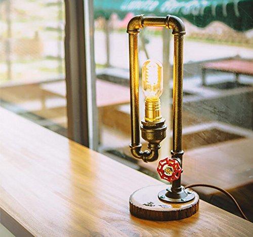 TOYM UK Creative tube d'eau lampe de bureau salon bar à la chambre cafetière lampe de table