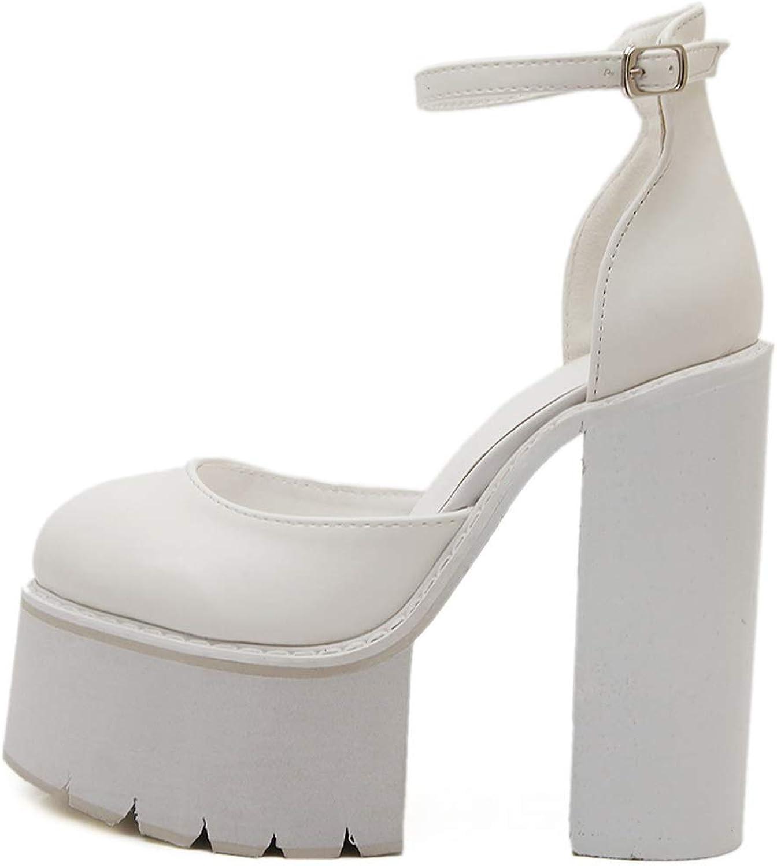 Cloudless High Heels Sandals Women,Ladies Teen Girls Anti-Slip Chunky Platform