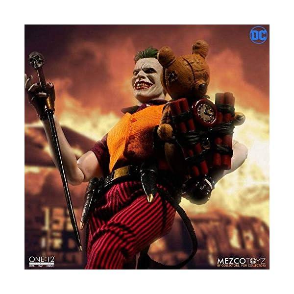 Mezco One:12 Collective The Joker Clown Prince of Crime Standard 4