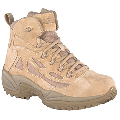 Reebok Work Men's Rapid Response RB8695 Safety Boot,Tan,10.5 W US