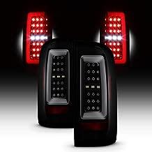For 2015-2019 Chevy Colorado/GMC Canyon Full LED Daytime Running Lamp Bar Tail Lights Black Housing Smoked Lens Full Set