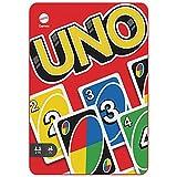 Mattel Games Juego de cartas UNO, juego de mesa en lata para niños +7 años (Mattel HGB63)