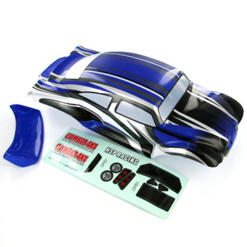 Redcat Racing 88215 Baja Body, 1/10 Scale, Blue/Black