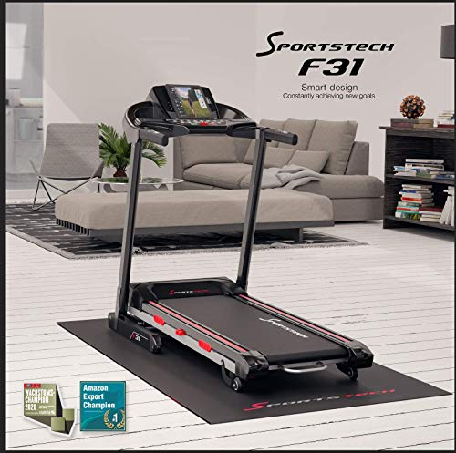 Sportstech-F31-Professional-Treadmill-With-Smartphone-App-Control-MP3-AUX-Bluetooth-4PS-16kmh-With-Innovative-Self-Lubrication-Function-Foldable-And-Space-Saving-Storage-F31