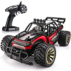Best Gift for Kids - The SGILE Remote Control Car is the best choice for your kids to race with friends and share happy times with family. The powerful motor can offer a wonderful driving experience on the street, park, backyard and everywhere in bet...