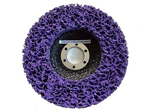 Olbrich-Industriebedarf Reinigungsscheibe 125 mm - 5 Stück LILA