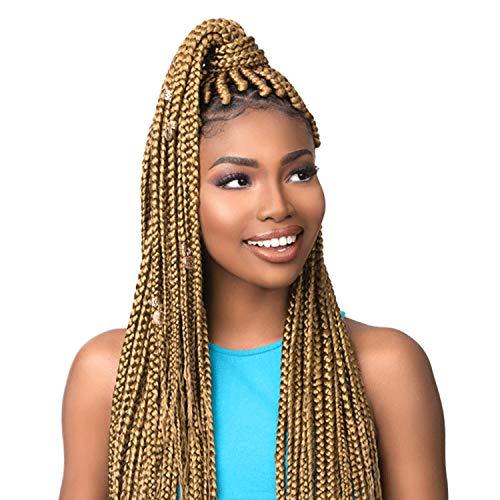 MULTI PACK DEALS! Sensationnel Synthetic Hair Braids XPRESSION 3X Ruwa Pre Layered Braid 24' (3-PACK, 99J)