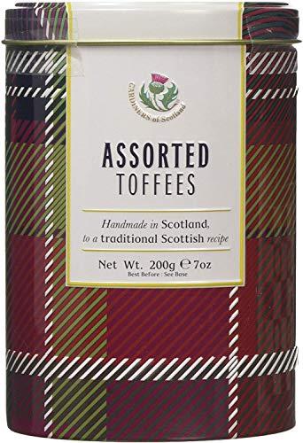 Gardiners of Scotland Assorted Toffees Tartan Tin, 7 Ounce