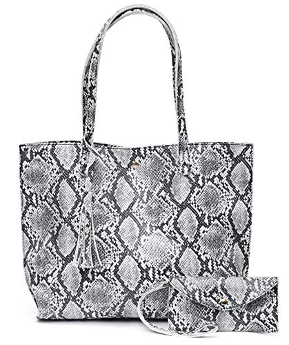 Deep embossed pebbled faux leather Magnet Snap 1 interior slip pocket Medium Tote; Proximate Dimensions: 16.5(L) x 11.8(H) x 2.7(W)inches; Notice: Please allowed slight colour deviation due to different displays.