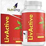 Liver Detox & Multivitamin Supplement. Contains Acai, Curcumin, Dandelion Root Extract. 15 Active Ingredients for Liver Cleanse. 100% Vegan. 120 Capsules by NutriZing. Over 3000mg Per Dose