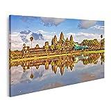 Bild Bilder auf Leinwand Angkor Wat Tempel SIEM Reap