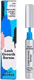 Silly George Lash Growth Serum Eyelash Growth Serum. Fuller, Longer, Luscious Eyelashes Without Eyelash Glue & Mess, Vegan