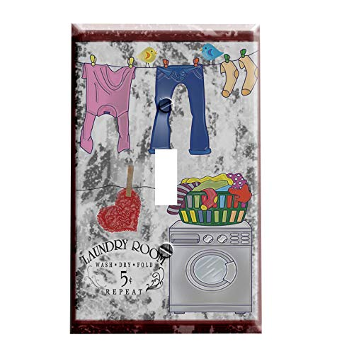 Laundry Room Switchplate - Switch Plate Cover