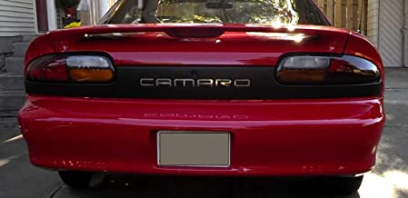 BDTrims Front and Rear Bumper Plastic Letters Inserts fits 1992-2002 Camaro Models (Chrome)