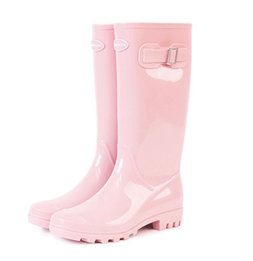 学んだ死にかけている知覚できる[D.IIZOO] おしゃれ レディース レインブーツ ロング オシャレ レインシューズ 長靴 防水 ロングブーツ 美脚 歩きやすい 雨靴 梅雨対策