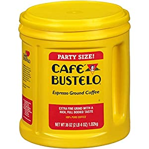 Cafe Bustelo Coffee - Espresso Grounds