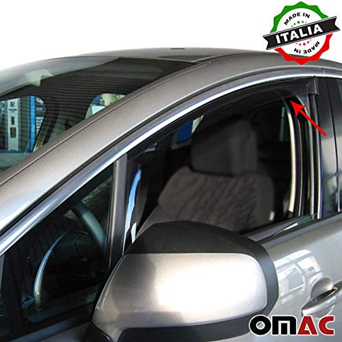 Omac GmbH Peugeot 3008-5008 Windabweiser Regenabweiser 2 TLG Satz vorne ab 2009