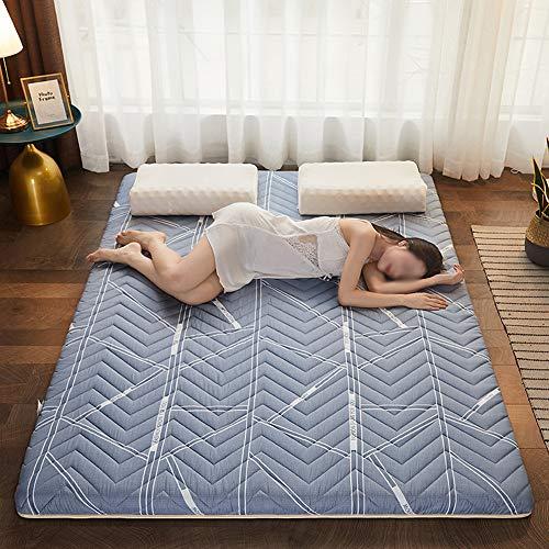 ZXGQF Colchón Tatami de futón Plegable Cojín de colchón para Dormitorio de Estudiantes japoneses Gruesos y Suaves (C,180 * 200cm)
