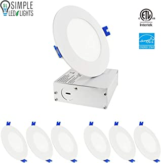 Best commercial electric 5 recessed lighting kit Reviews