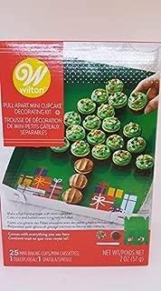 Pull-Apart Christmas Tree Mini Cupcake Decorating Kit