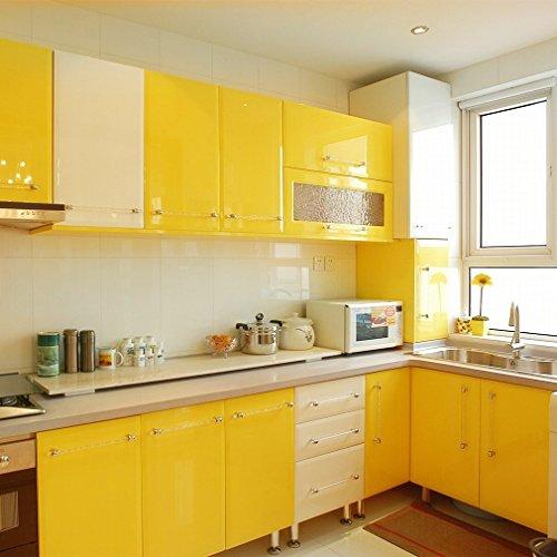 1 Rollo (5 metros) amarillo Vinilo cambio color o restauración muebles