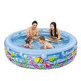 Piscinas hinchables XULAN Piscina inflable Piscina para niños Trompeta Piscina grande para adultos Piscina para adultos para adultos Baño engrosamiento