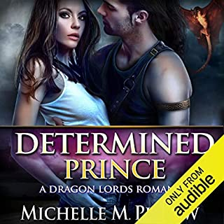 Determined Prince audiobook cover art